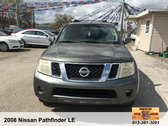 Vehicle Details Route 92 Auto Sales LLC 3409 W Baker Street Plant City FL 33563 813 361 3091 2008 Nissan Pathfinder LE