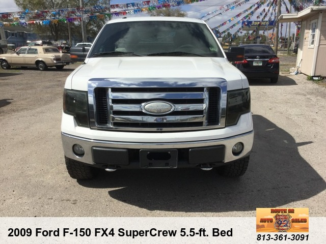 Vehicle Details Route 92 Auto Sales LLC 3409 W Baker Street Plant City FL 33563 813 361 3091 2009 Ford F 150 FX4 SuperCrew 55 Ft Bed